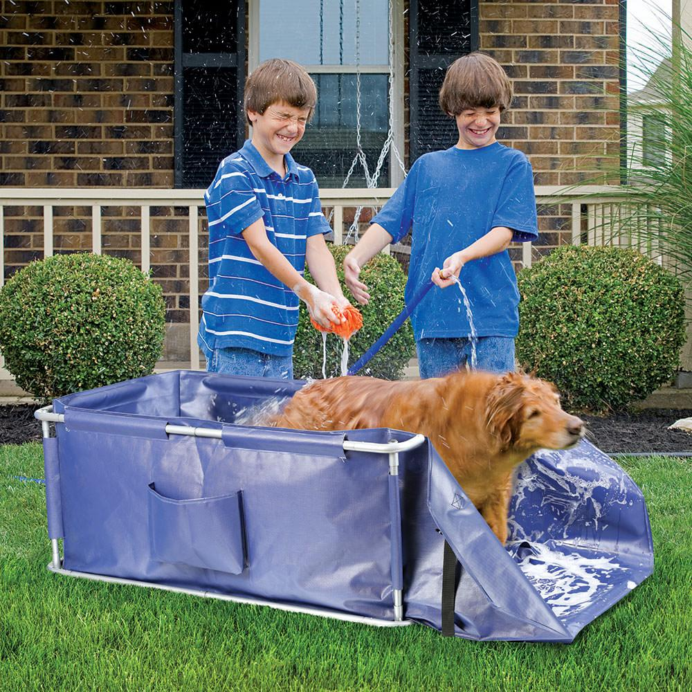 Portable Indoor And Outdoor Pet Bath Etna 4694 Pet Grooming Camping World