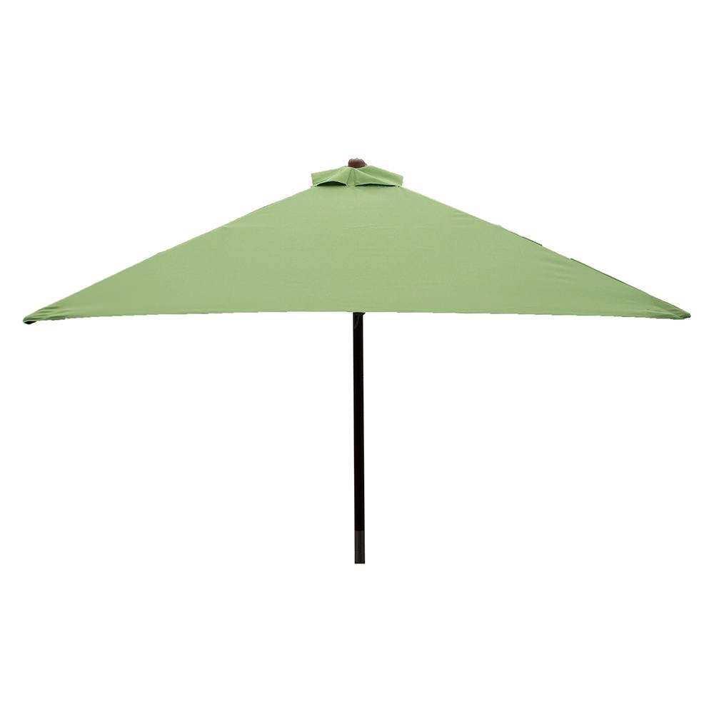 ... Classic Wood Square Patio Umbrella   Lime, 6.5 ...