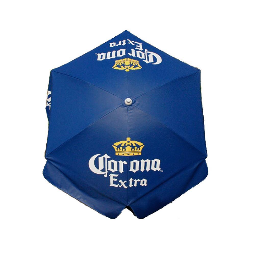 ... Corona Extra Vinyl Patio Umbrella, 6
