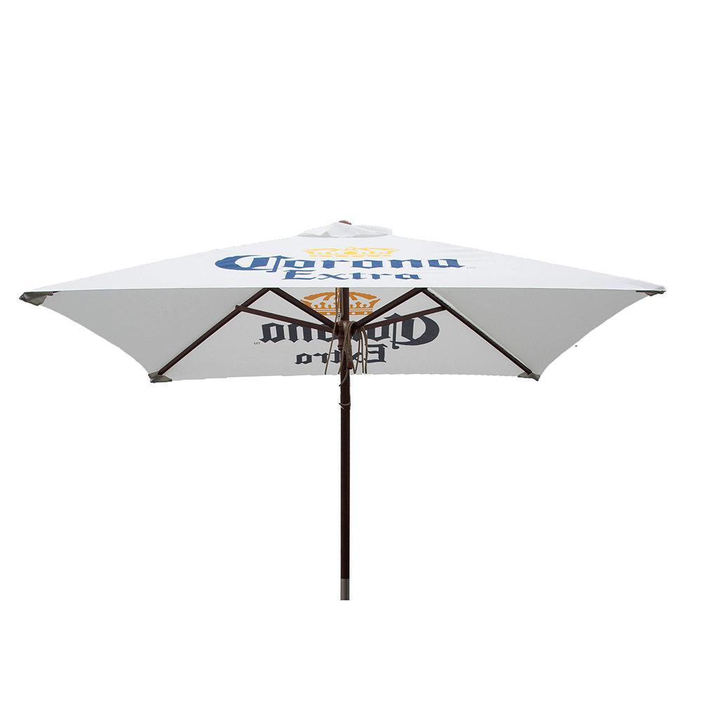 ... Corona Extra Square Patio Umbrella, 6.5