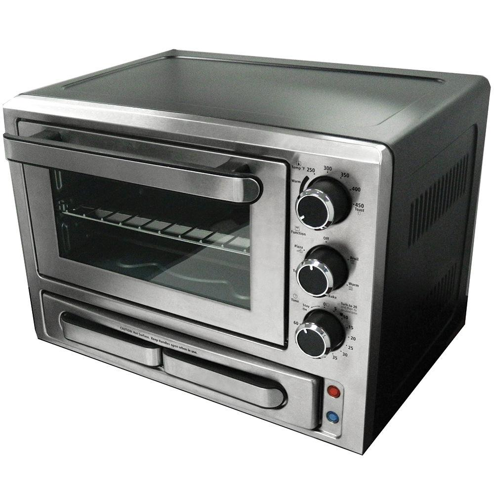 ovens waring commercial volts pizza deck oven countertop countertops single