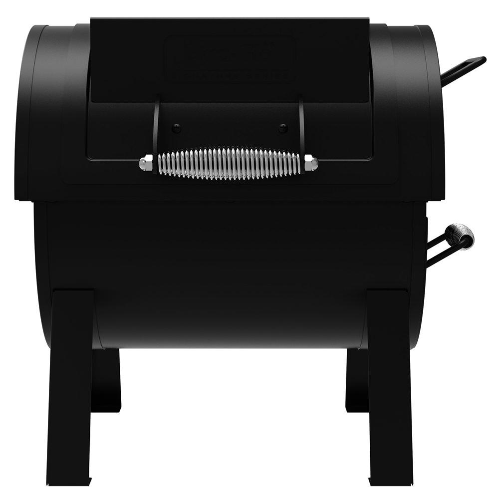 dyna glo portable tabletop charcoal grill u0026 side firebox ghp