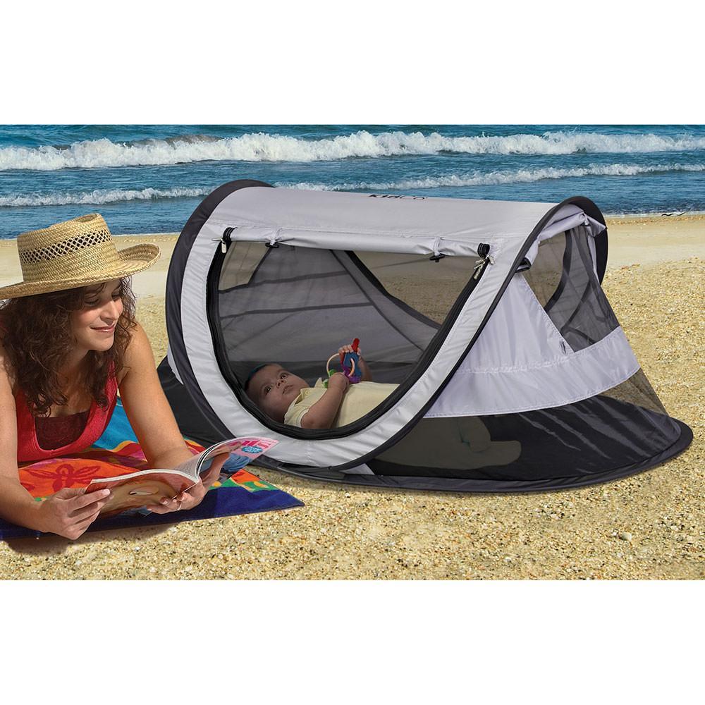 ... KidCo PeaPod Plus Travel Bed Midnight ...  sc 1 st  C&ing World & KidCo PeaPod Plus Travel Bed Midnight - Kidco P4012 - Sleeping ...