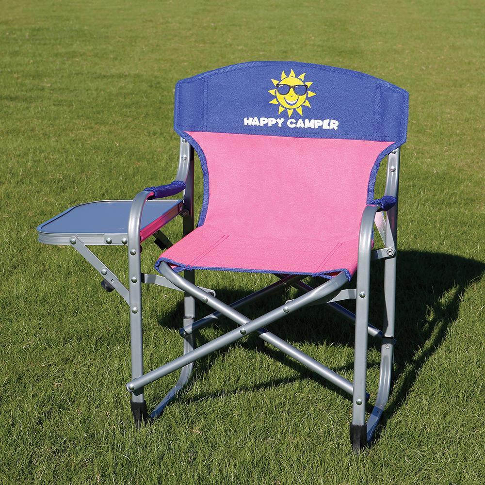 Superior ... Kidsu0027 Directoru0027s Chair, Pink/Blue ...