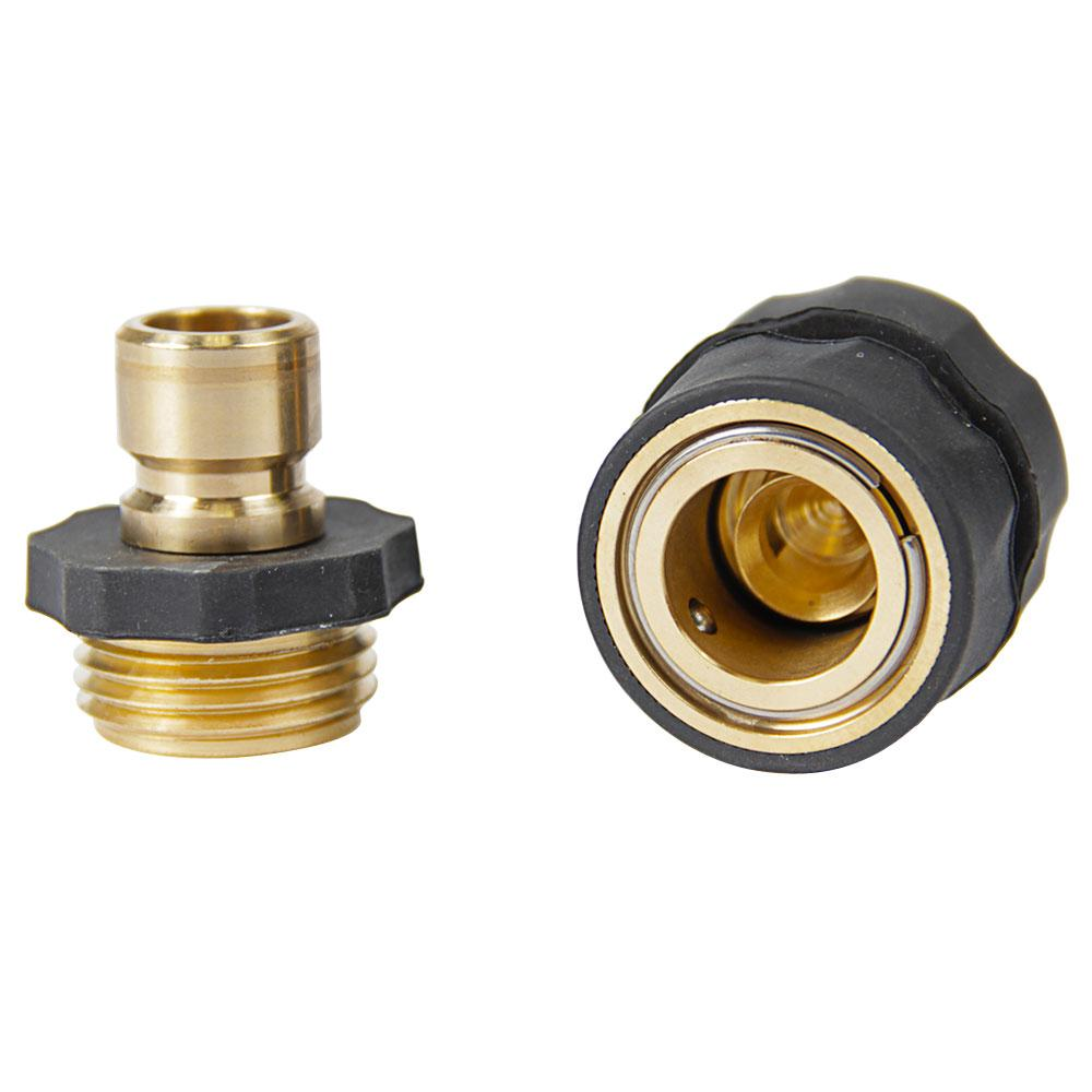 Brass quick connect fitting camco hoses reels