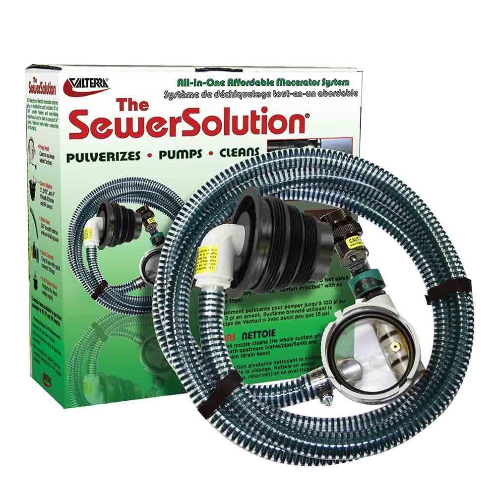 Sewer Solution Valterra Ss01 Drain Amp Flush Systems