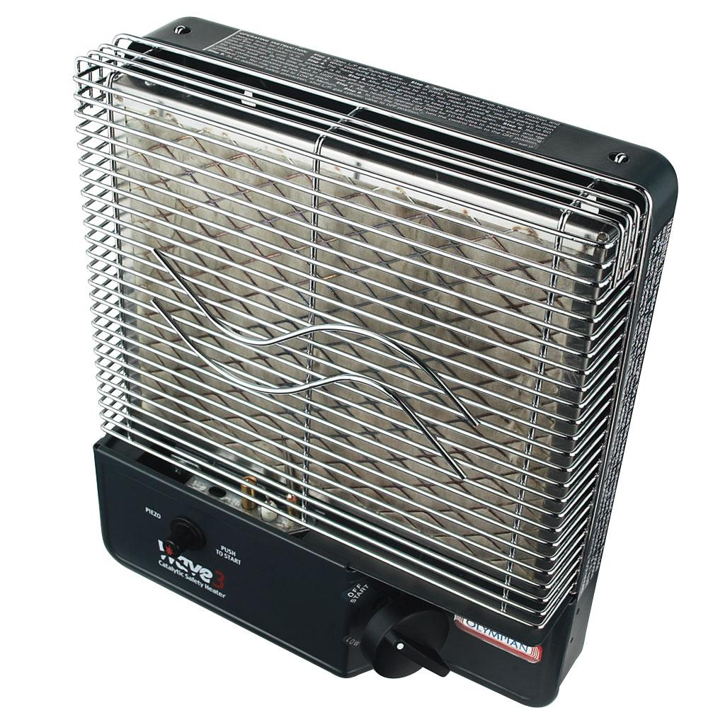 ... Olympian Wave-3 Catalytic Safety Heater ...  sc 1 st  C&ing World & Olympian Wave 3 Catalytic Safety Heater - Camco 57331 - Portable ...