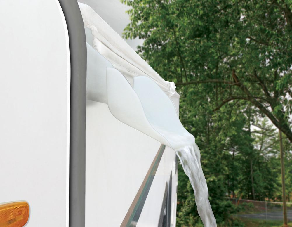 RV Gutter Spouts With Extensions 4pk