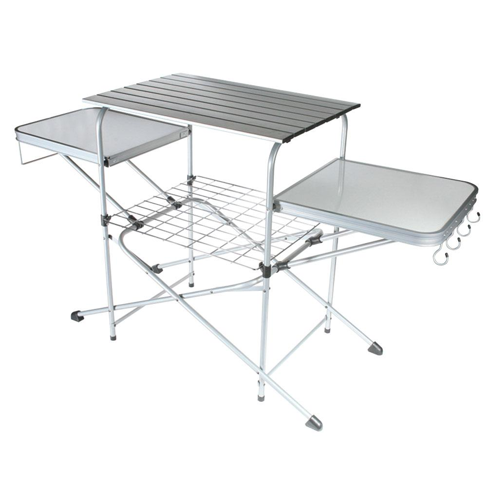 Deluxe Grill Table Camco Folding Tables Camping World