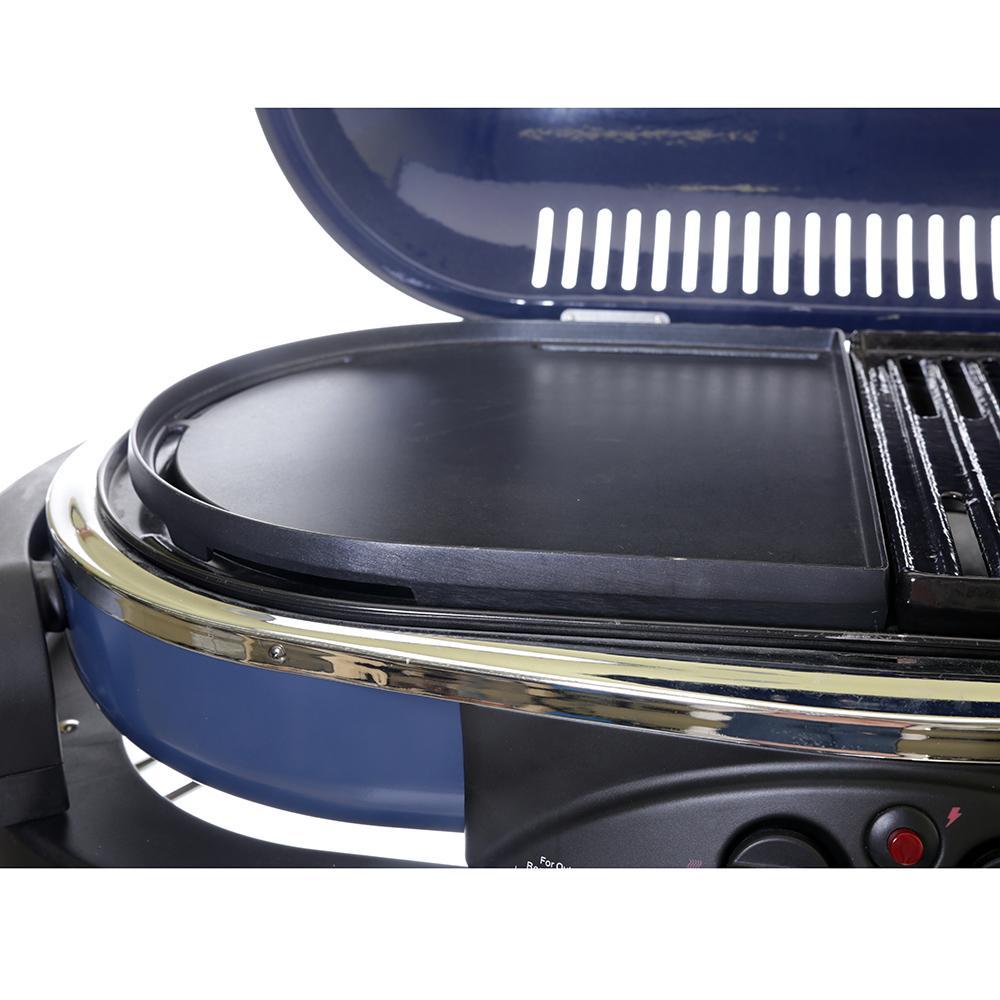 Coleman roadtrip classic grill blue
