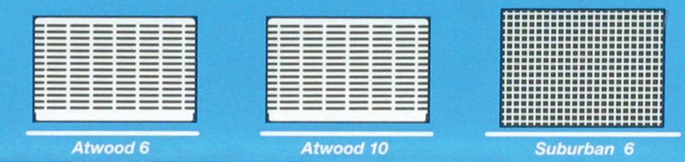 Flying Insect Screen For Atwood 6 10 Suburban 6 Water