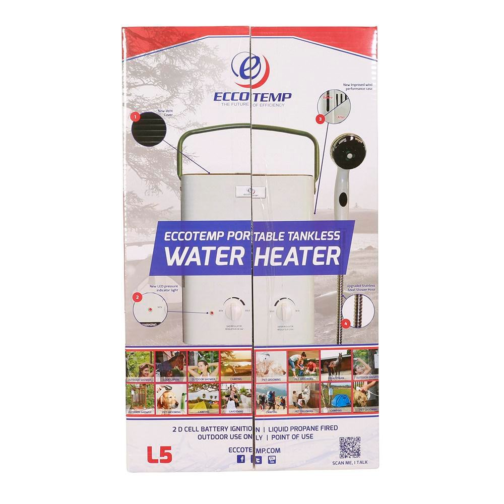 eccotemp l5 portable tankless water heater