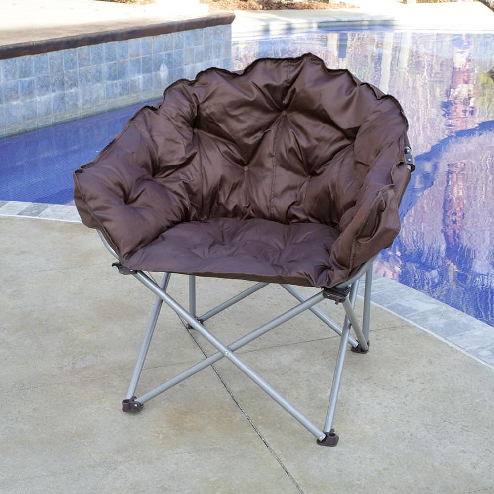 Brown Club Chair Mac Sports C932S 100 Folding Chairs