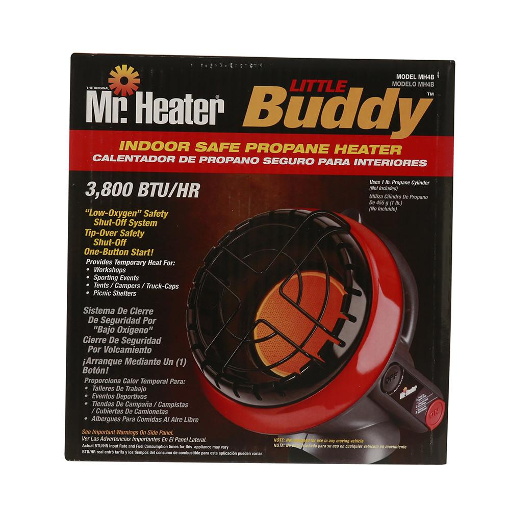 Little Buddy Propane Heater · Little Buddy Propane Heater ...  sc 1 st  C&ing World & Little Buddy Propane Heater - Mr. Heater F215100 - Portable ...