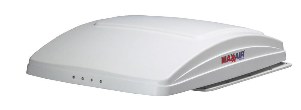 Maxxfan Deluxe Remote Control Rv Ventilator System White