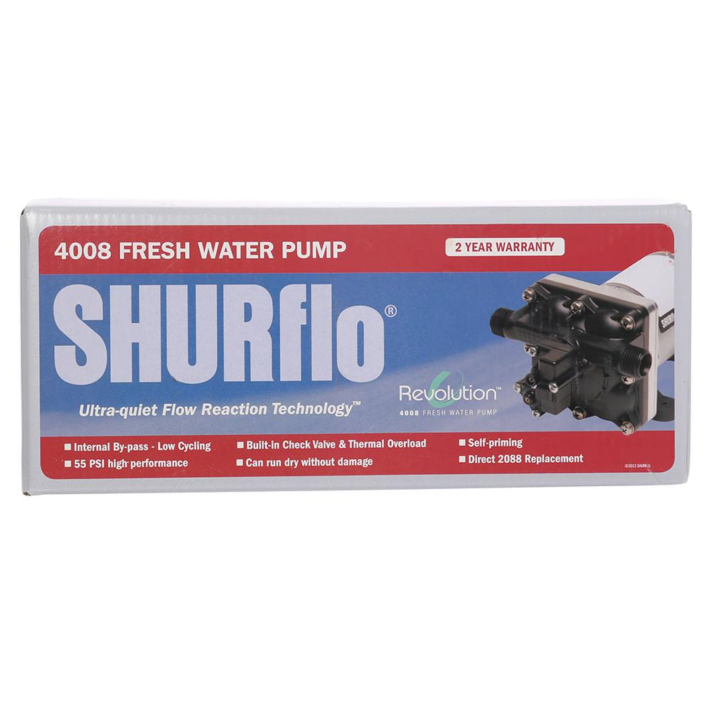 Shurflo Revolution Water Pump - Shurflo 4008-101-E65 - Fresh Water ...