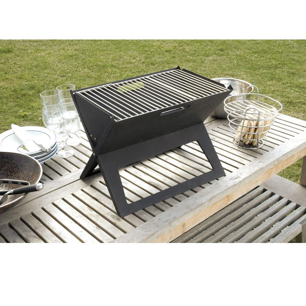 ... Hot Spot Notebook Charcoal Grill ...