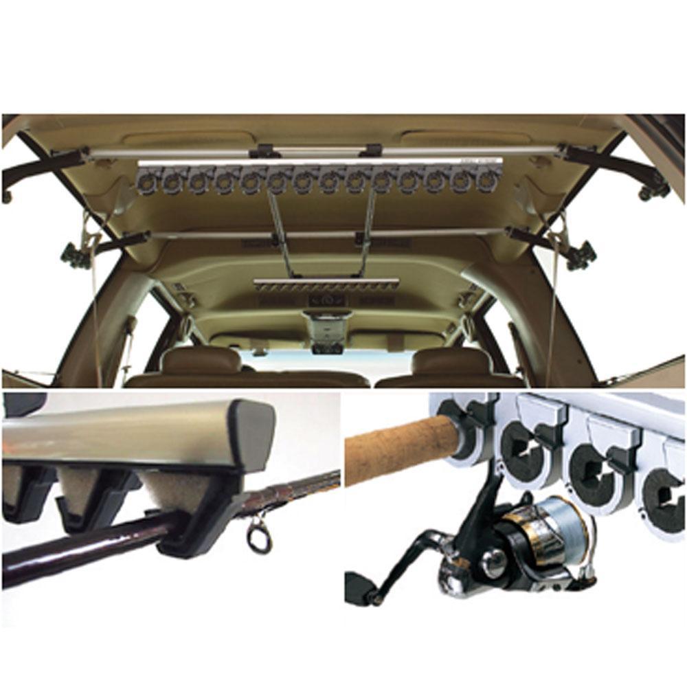 Fishing rod rack for Fishing rod holders for cars