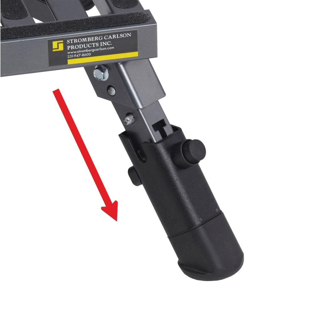Adjustable Leg Platform Step Stromberg Carlson Pa 250