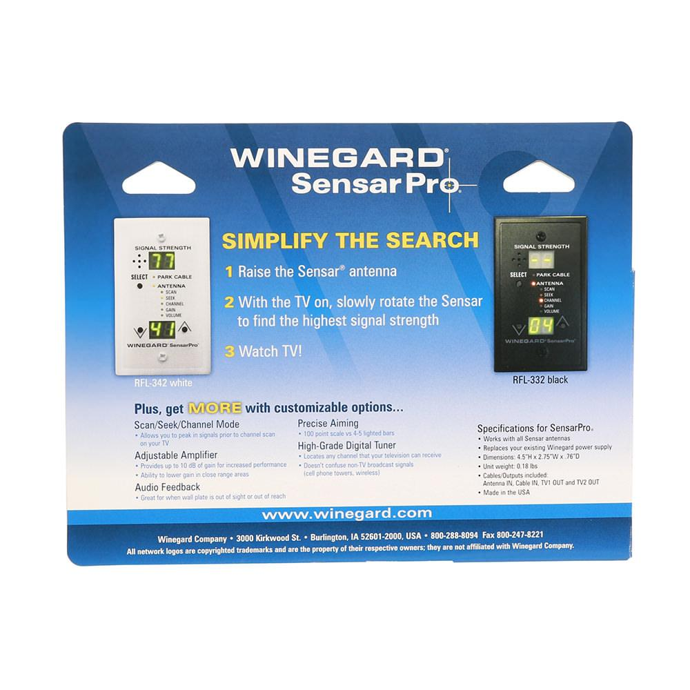 55642_02 winegard sensarpro tv signal meter white winegard rfl 342 Winegard RV TV Antenna Booster at soozxer.org