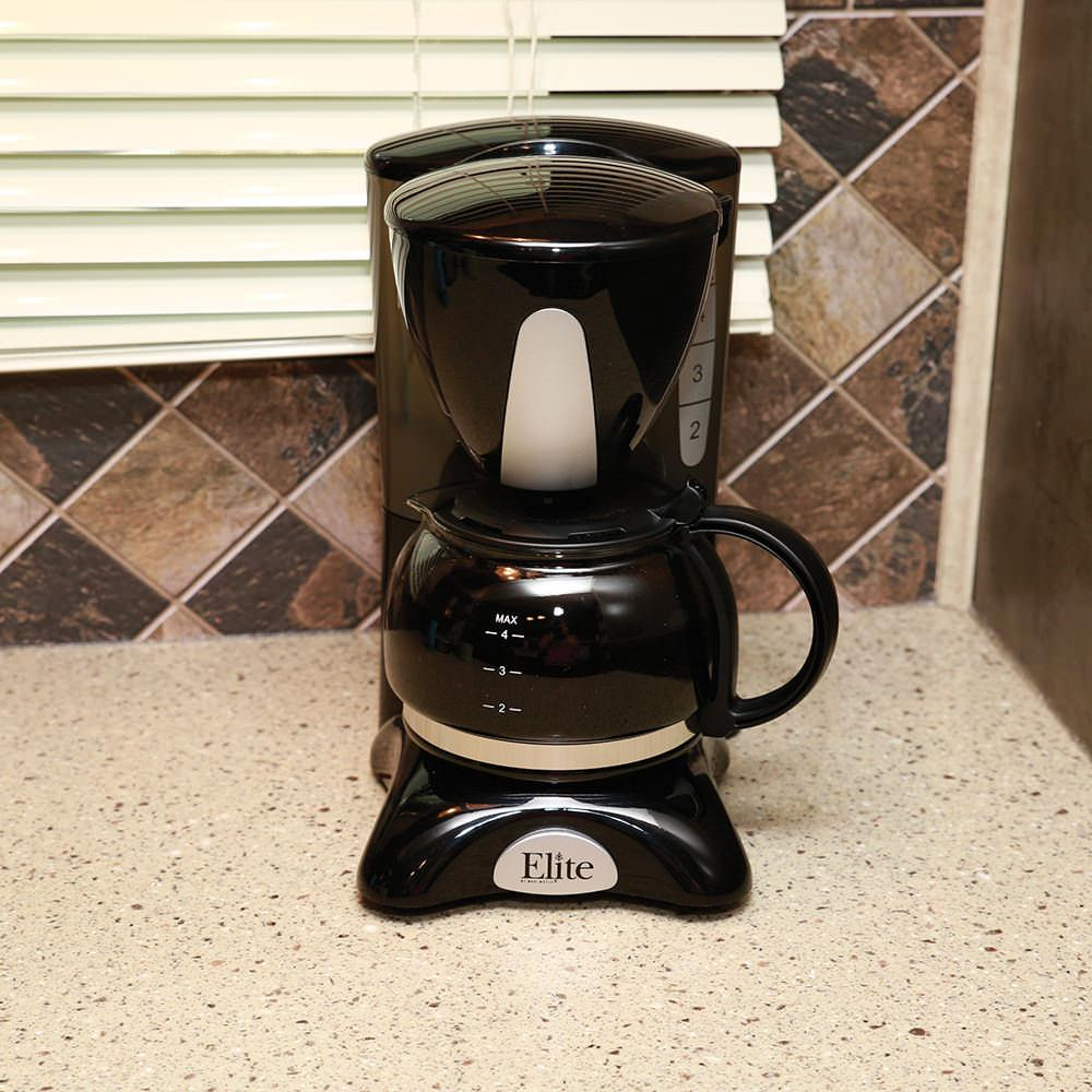 Camping World Coffee Maker : Elite 4-cup Coffee Maker - Maxi-Matic EHC-2022 - Coffee Makers - Camping World