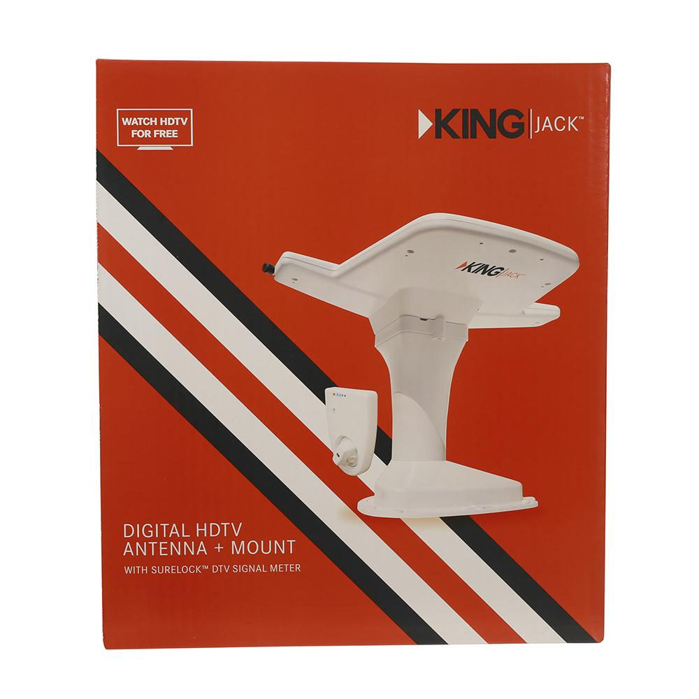 King Digital Hdtv Antenna System White King Oa8200