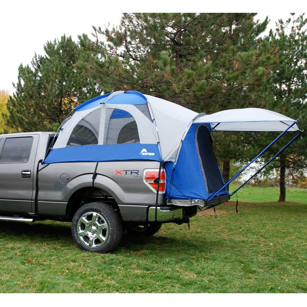 sportz truck tent full size short bed napier enterprises 57022 family tents camping world. Black Bedroom Furniture Sets. Home Design Ideas