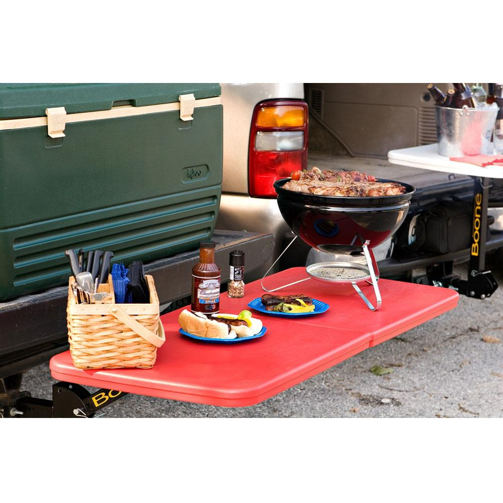 Boone tailgate table gray 2 hitch simon morrow design llc boone tailgate table gray 2 hitch geotapseo Images