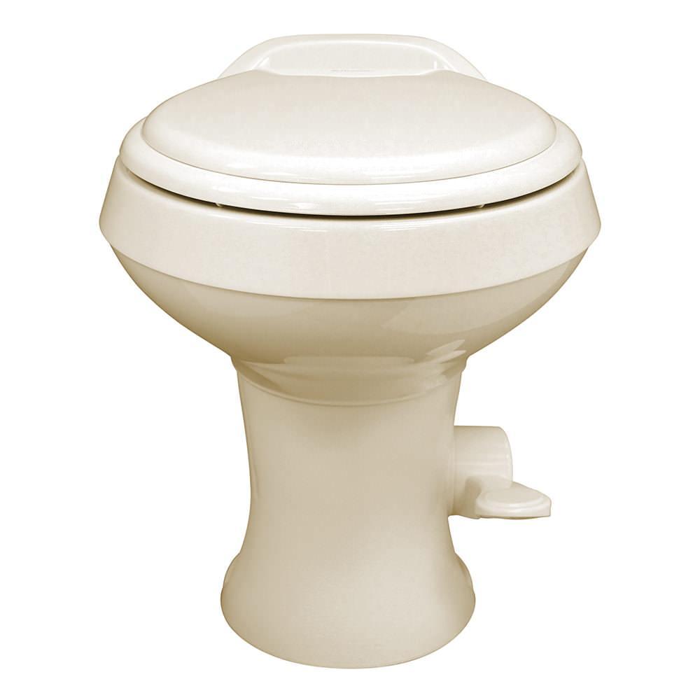 Dometic High Profile 300 Gravity Flush Toilet - Bone - Dometic ...