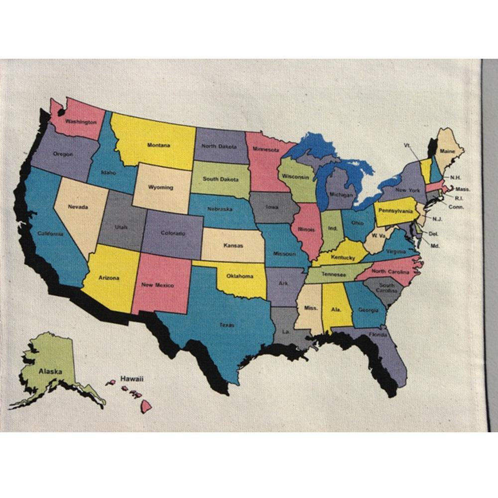 Travel Keepsake Map USA Travel Keepsake TK101USA Travel