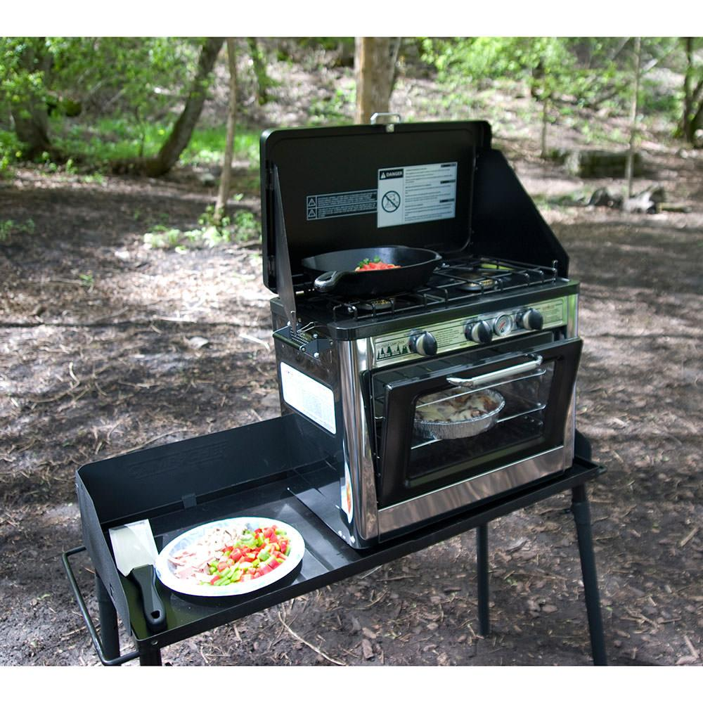 2 Oven Stove Camp Chef Portable Outdoor Stovetop Oven