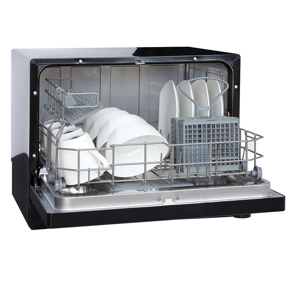 Countertop Dishwasher Size : VESTA Countertop Dishwasher - Westland DWV322CB - Dishwashers ...