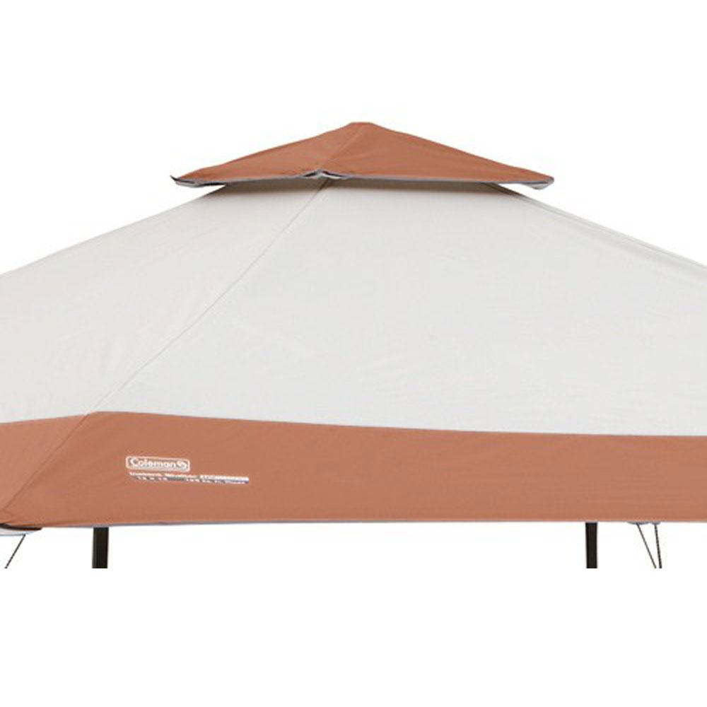 ... Instant Canopy 13 ft x 13 ft - Cream/Brown ...  sc 1 st  C&ing World & Instant Canopy 13 ft x 13 ft - Cream/Brown - Coleman 2000023972 ...
