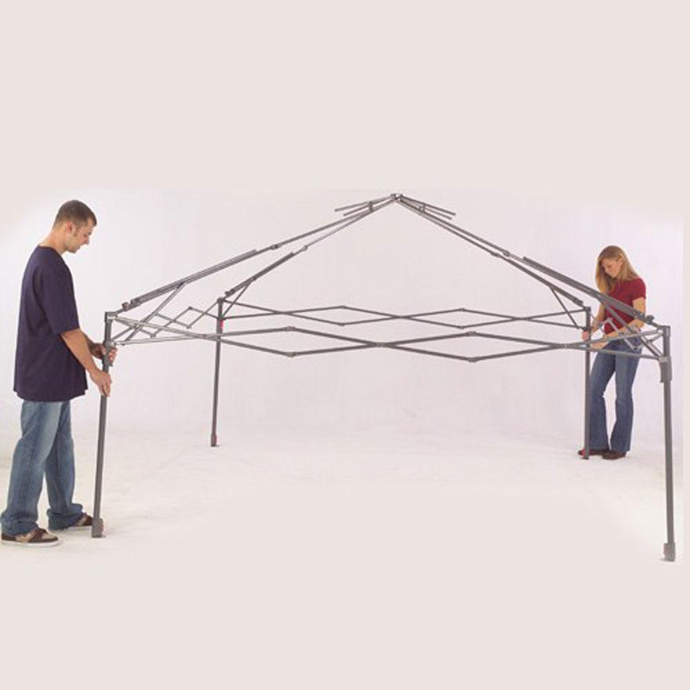 instant canopy 13 ft x 13 ft creambrown - Instant Canopy