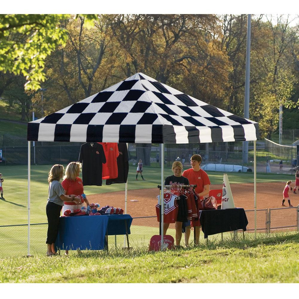 ... 10X10 Pro Series Pop-Up Canopy - Checkered Flag ... & 10X10 Pro Series Pop-Up Canopy - Checkered Flag - Shelterlogic ...