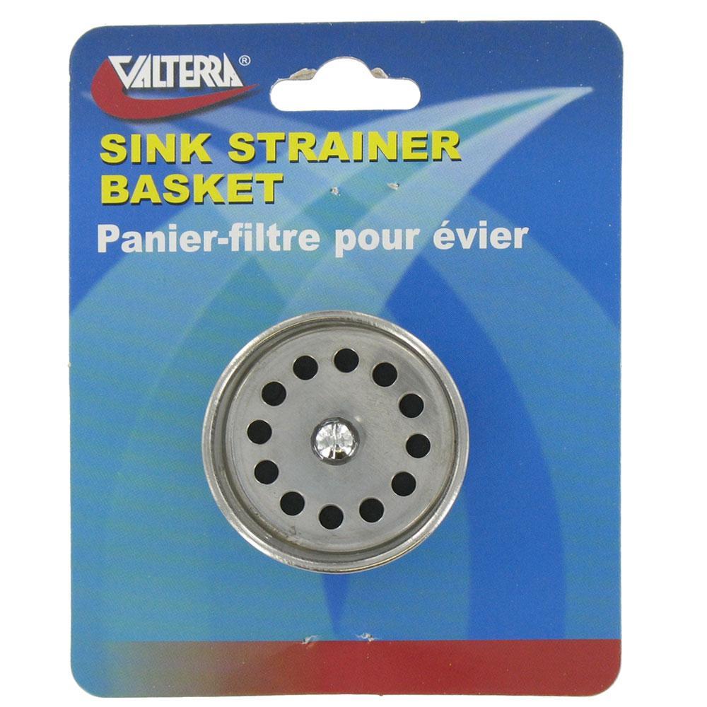 Sink Strainer Basket - Valterra A01-2018VP - Sink Accessories ...