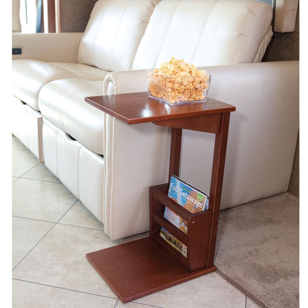 High Quality ... Sofa Server Table   Walnut ...