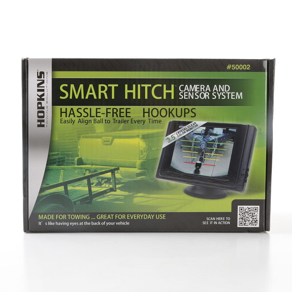 Smart Hitch Camera And Sensor System