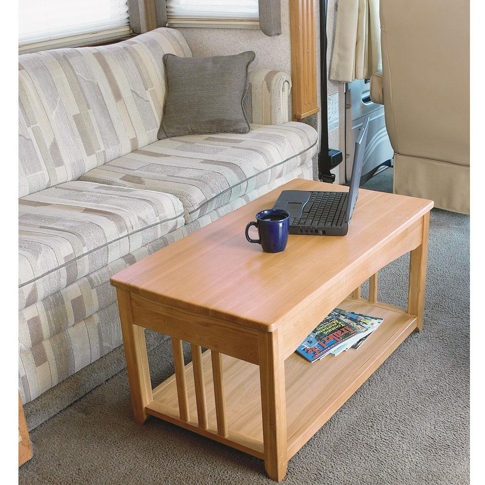 Swing Up Coffee Table Direcsource