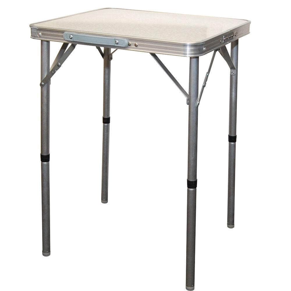Adjustable Height Aluminum Table Four Corners Wd911 H1
