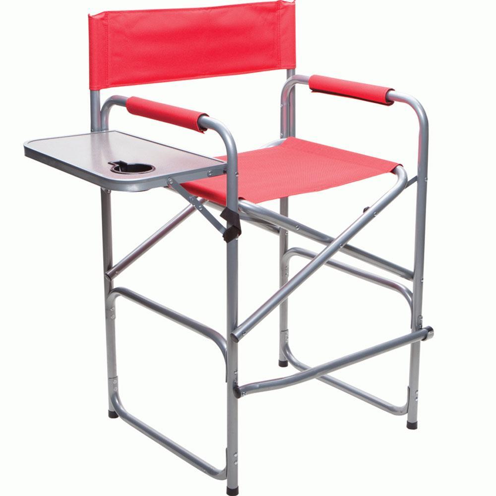 Tall Director s Chair Four Corners AC018 21TA Folding Chairs Campin