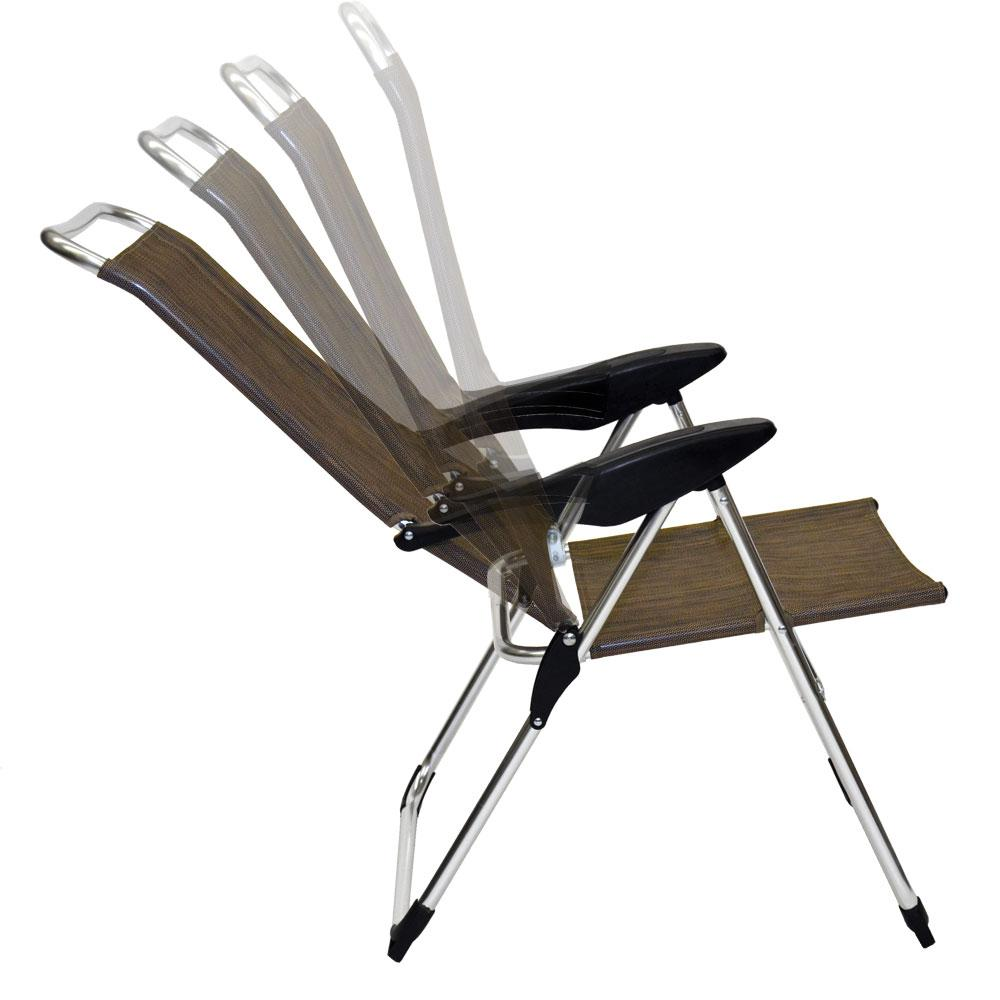 Lightweight Adjustable Folding Arm Chair Direcsource Ltd A Folding C