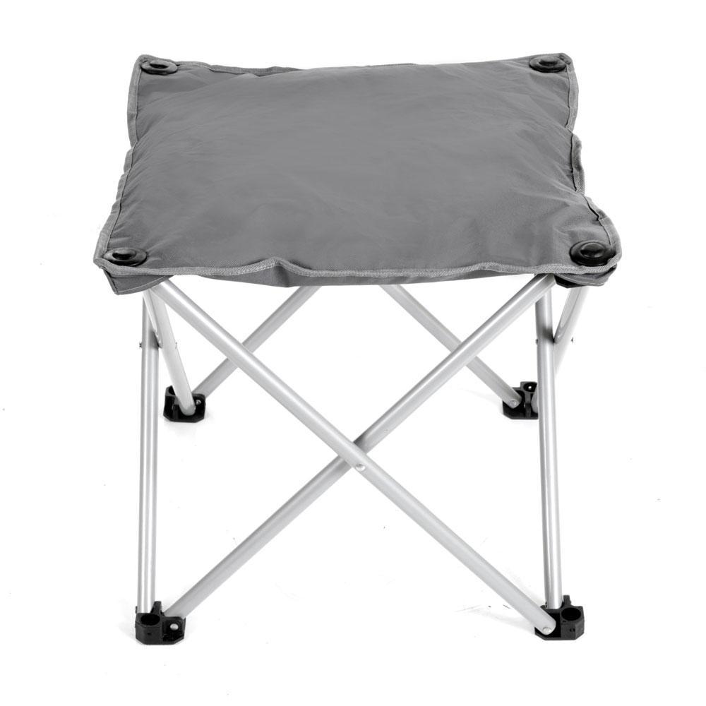 Gray Outdoor Ottoman Intersource D09 15003 Chair