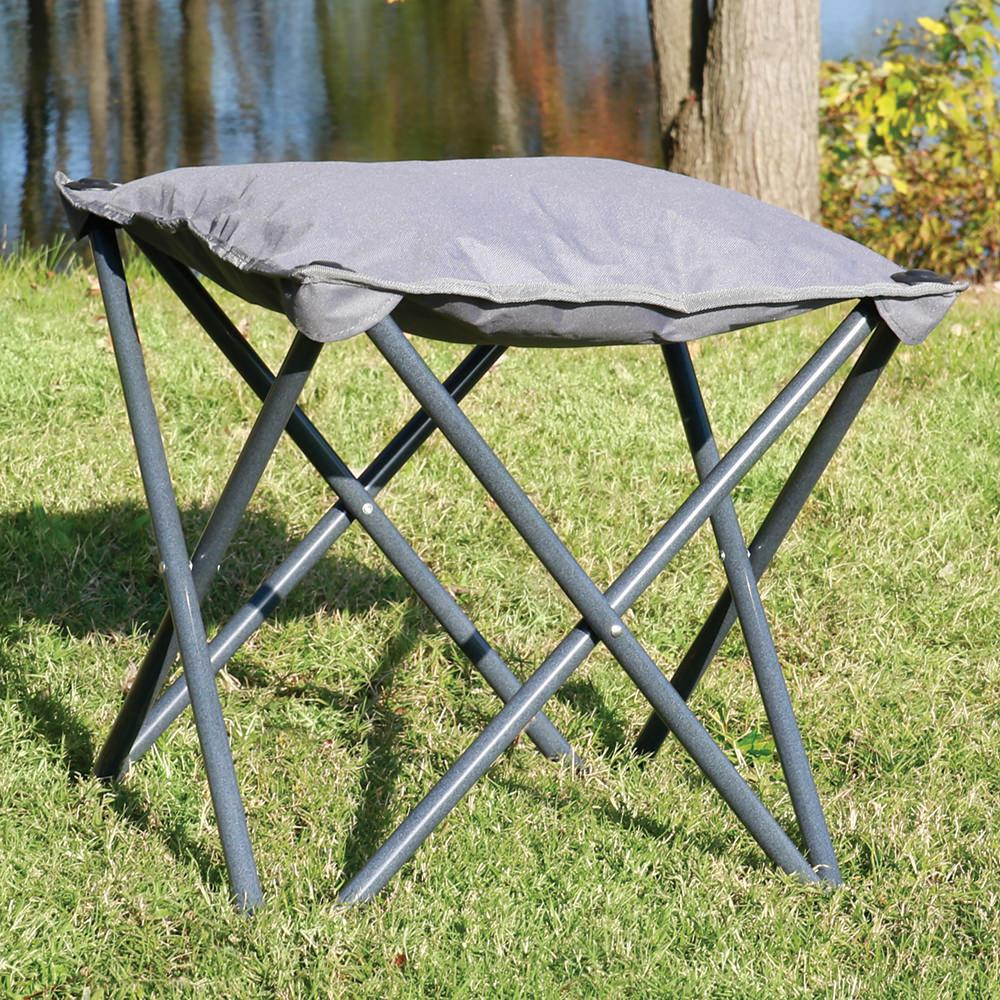 gray outdoor ottoman  intersource d  chair accessories  -  gray outdoor ottoman