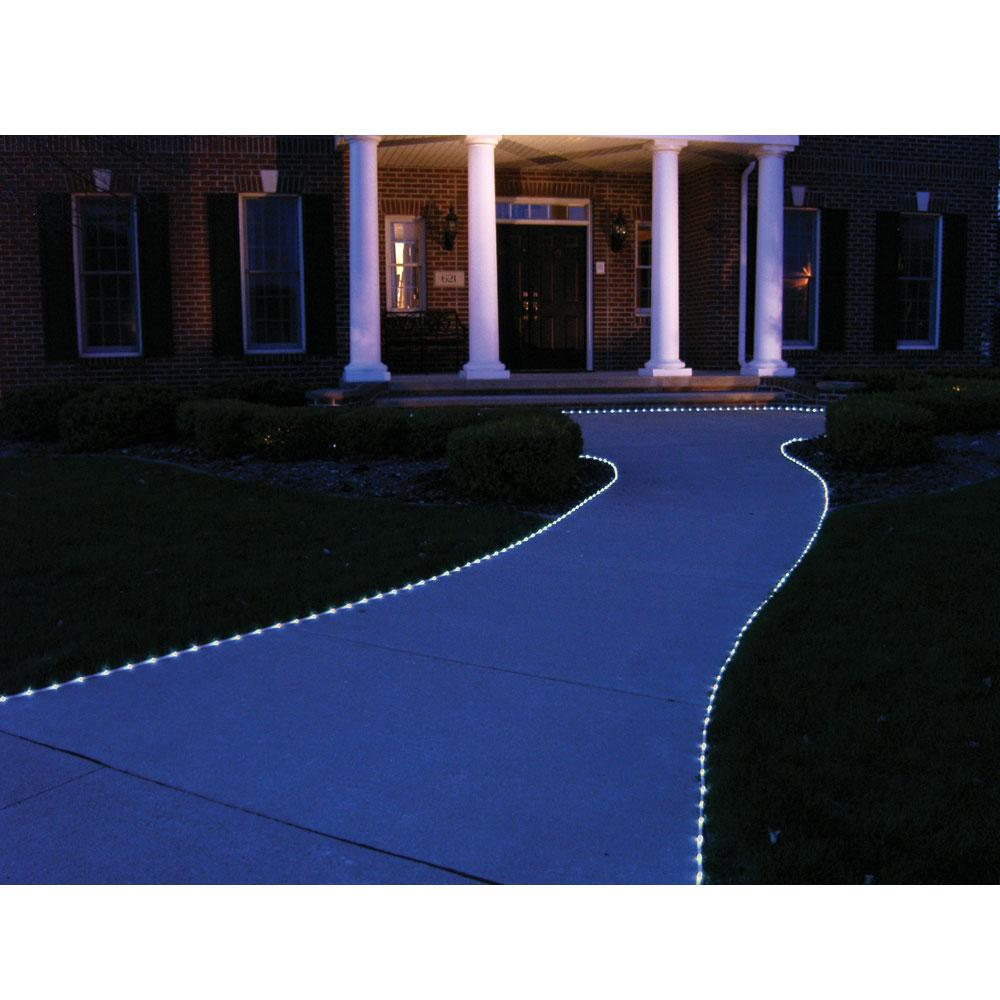 ... White LED Solar Rope Lights ...