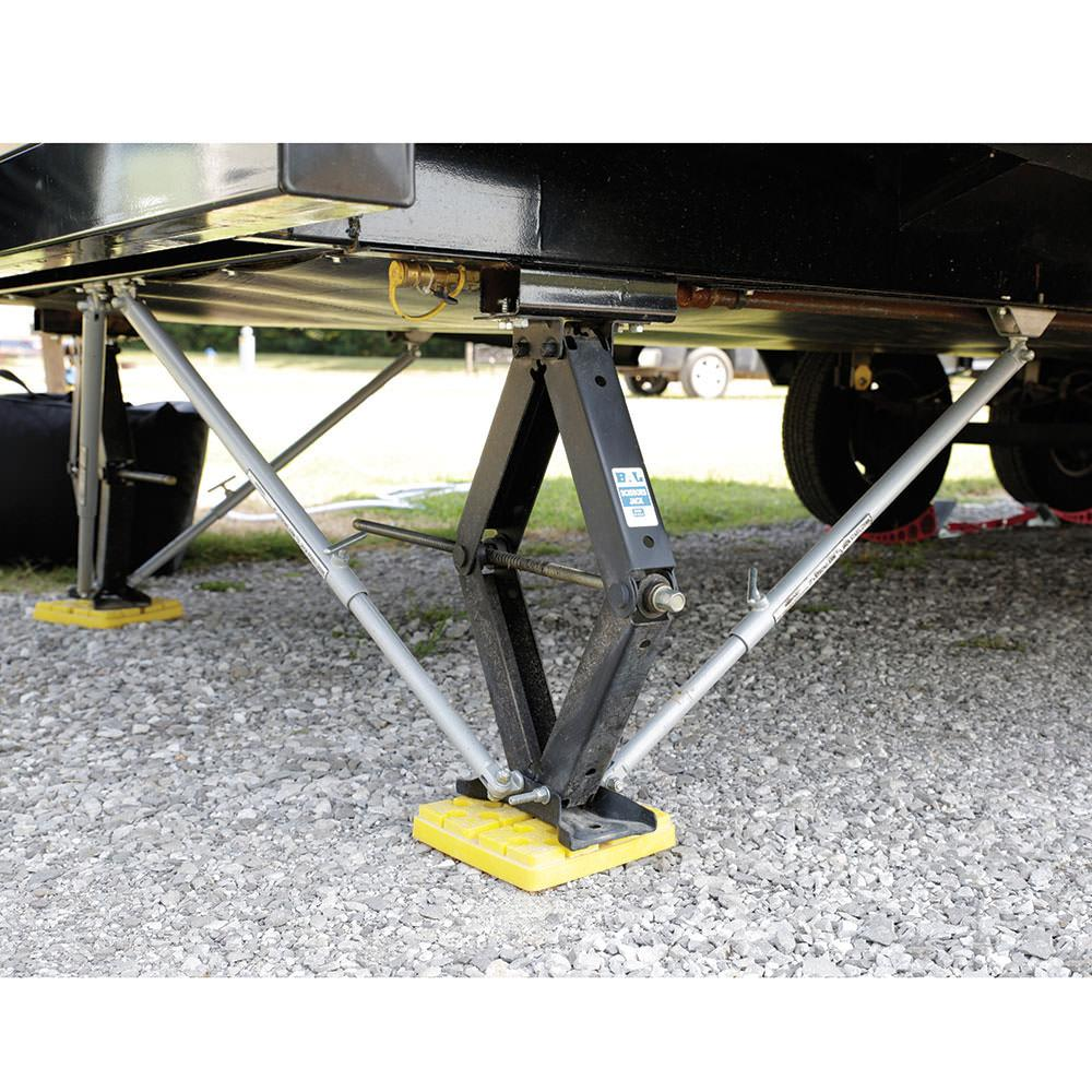 Stabilizer Bars For Travel Trailers : Jt strong arm jack stabilizer system travel trailer kit