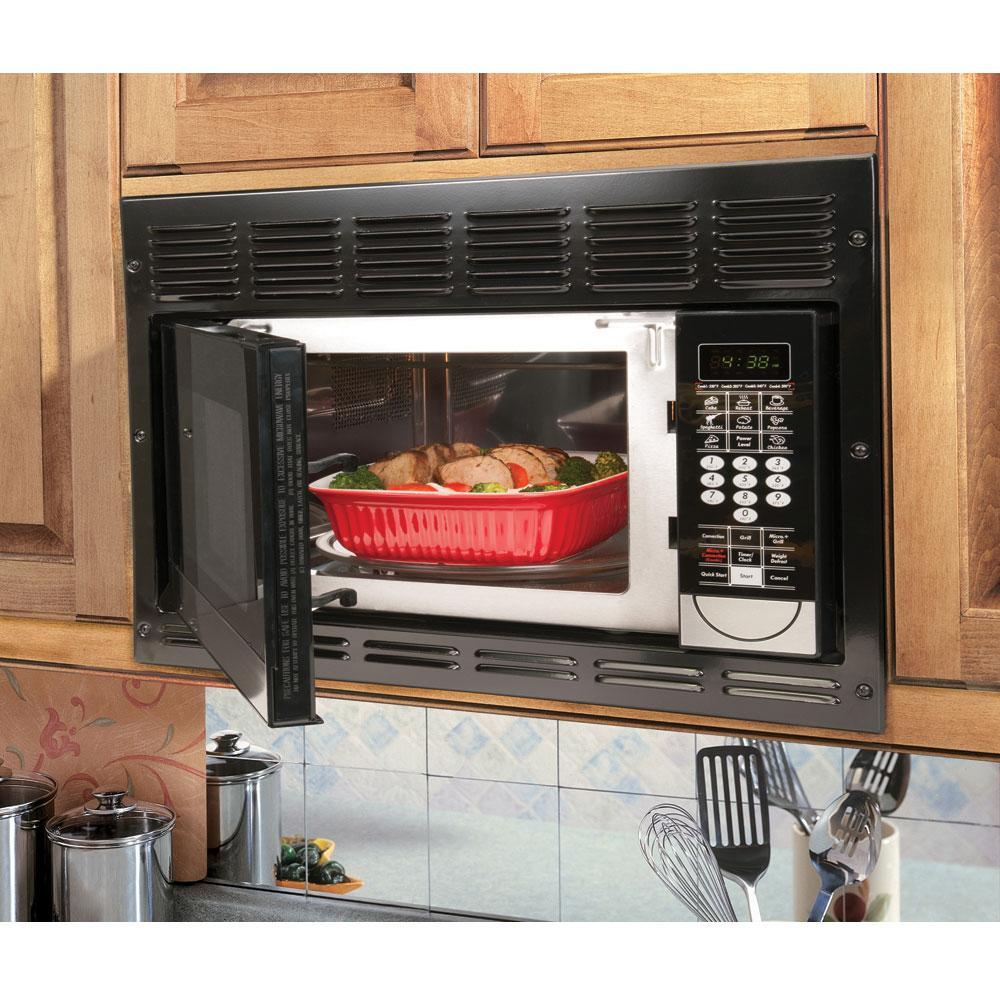 ... Dometic Convection Microwave With Black Trim Kit ...