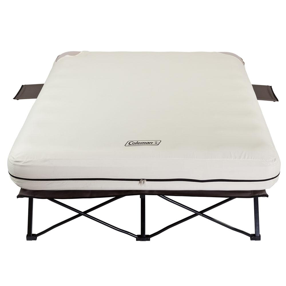 Queen Airbed Cot With Side Tables Coleman 2000020270