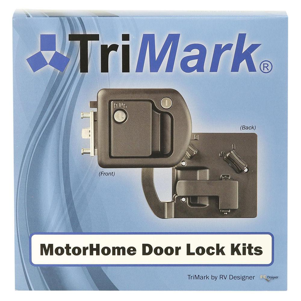 ... Entrance Door Lock With Deadbolt ...  sc 1 st  C&ing World & Entrance Door Lock With Deadbolt - RV Designer T507 - Entry Door ...