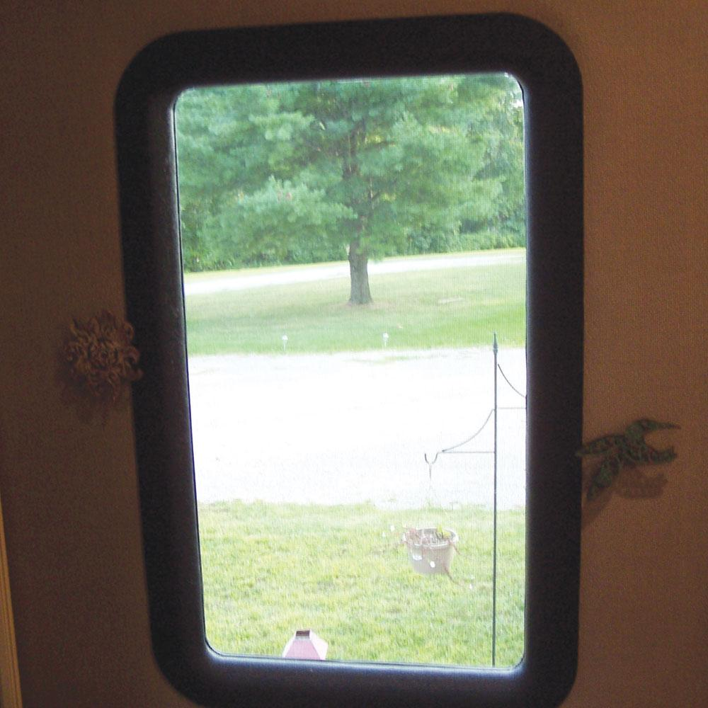 Clear View Entry Door Window Kit Ebay